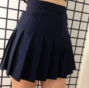 Navy blue American Apparel skirt
